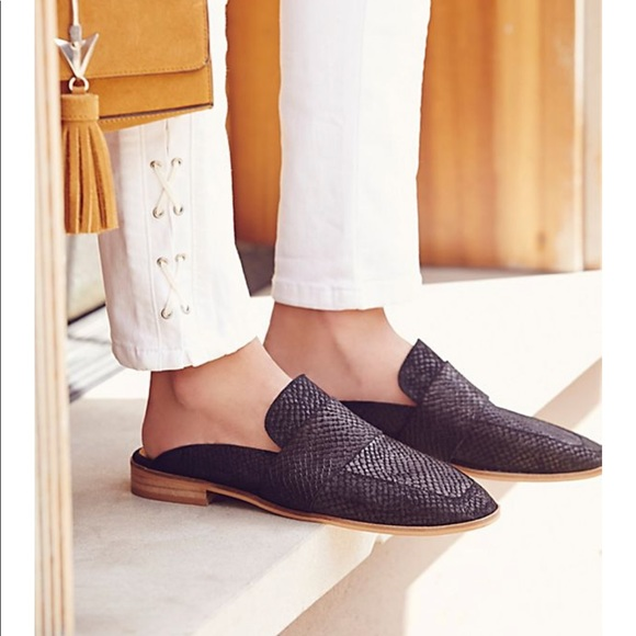 Free People Shoes At Ease Loafer Mule 6 Poshmark